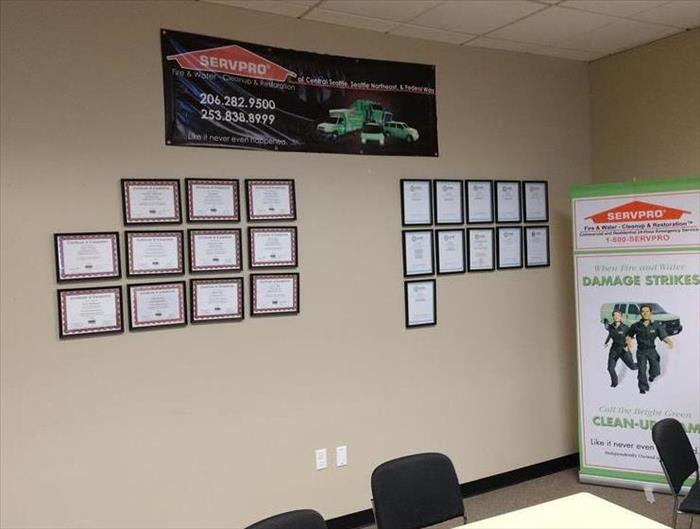 SERVPRO Employee Certifications